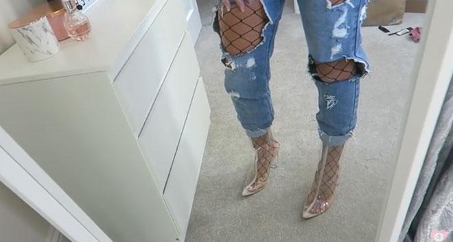 Diy jeans trends denim mode selbst gestalten julia for Ripped jeans selber machen